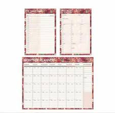 Monthly Weekly Daily Planner Details About Travel Journal Schedule Planner Memo Notepad Book Monthly Weekly Daily Organizer