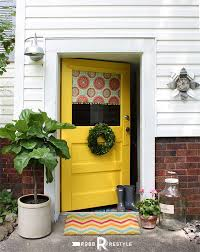 front door makeover by robb restyle modern masters non fade front door paint in