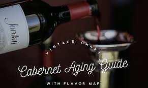 Wine Aging Chart Wine Vintage Chart When To Drink Jordan Cabernet Sauvignon