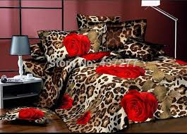 S Sexy Leopard Print Rose Bedroom Bedding Sets Bedspreads On Queen Beds With  Sheets Duvetquilt Cover Comforter Polyester High Quality Bed Dresser China