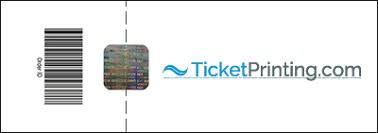 Ticket Printing Security Ticket Security Features