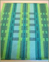 forest green bath rugs bathroom emerald rug cotton geometrical fo
