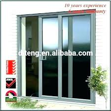 unique patio doors or exterior door therma tru storm screen installation idea and french with blinds