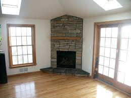 corner natural gas fireplace inserts contemporary mantel stone two sided insert