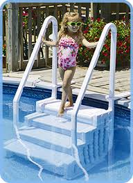 Above Ground Pool Step Buyers Guide InTheSwim Pool Blog