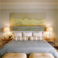 wide artwork over the bed room designed by patrice bevan cowans via desire to on tranquil bedroom wall art with 120 best bedroom images on pinterest bedroom ideas bedrooms and