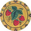 Росписи тарелок детьми