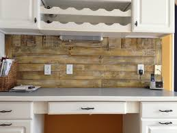Pallet Wood Backsplash Pallet Backsplash Complete Two Deconstructed Pallets Find Flickr