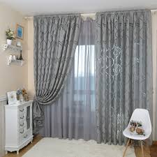 bedroom curtains with blinds. best modern decorative jacquard gray window curtain image for bedroom with blinds styles and ideas curtains a