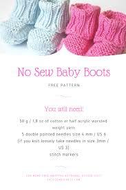 Baby Booties Pattern Simple Design Ideas