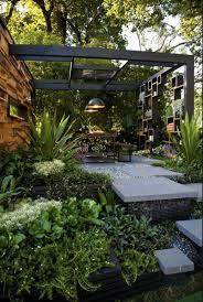 outdoor lighting design ideas led