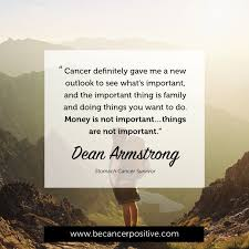 Quotes About Cancer Magnificent What's Important Cancer Positive