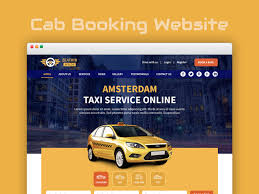 Taxi Advertising And Design Toronto Taxi Booking Website Ui Ux By Devender Kumar On Dribbble