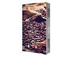 Газовая колонка <b>Zerten K</b>-<b>20</b>, корпус в стекле (Кофе) - купить в ...