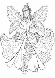 Fairy Coloring Pages Printable Free Free Fairy Coloring Pages For