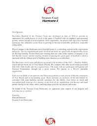 Cover Letter Sponsorship Youth Sponsorship Letter Cover Letter Samples Cover