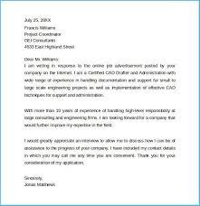 Online Job Cover Letter Interesting Sample Relocation Cover Letter To Make Cover