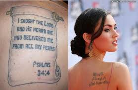 Christian Quotes For Tattoos Best of Funny Pictures Gallery Bible Quotes Tattoos Bible Quote Tattoos