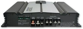 pioneer 760w amp. product name: pioneer gm-5100t 760w amp