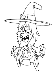 Small Picture Halloween Coloring Pages for Kids Free Coloring Pictures
