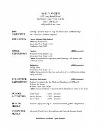 Resume Highlights Examples Nanny Resume Htm Fabulous Babysitter Sample Free Career Highlights 92