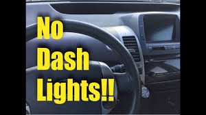 Problem Light Prius 2004 2009 Toyota Prius No Dash Lights Fix
