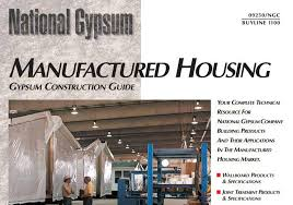 vinyl walls in mobile homes manufactured housing gypsum construction guide