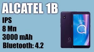Обзор <b>смартфона alcatel 1B</b> (2020) IPS, 3000 mAh - YouTube