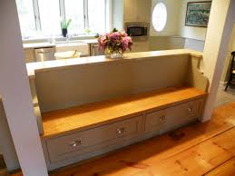 Built In Kitchen Benches Mesmerizing Kitchen Table With Bench Seating Photography Storage