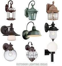 porch light fixtures