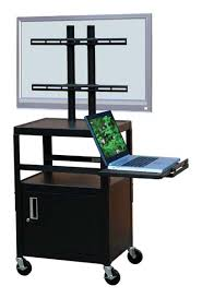 Locking Av Cabinet This Rolling Av Cart Can Be Used As A Podium In A Church Hall