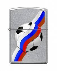 Купить <b>Зажигалка ZIPPO</b> 207 RUSSIAN <b>SOCCER</b> - Российский ...