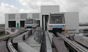 Mover System Bush Intercontinental Airport Automated People Mover System