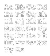Free Printable Alphabet Coloring Sheets Alphabet Coloring Pages Free