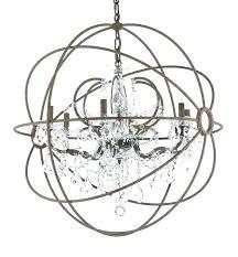 chandeliers wood orb chandelier white