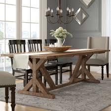 Lark Manor Abbey Dining Table Reviews Wayfair Stunning Dining Room Interior Designs Model