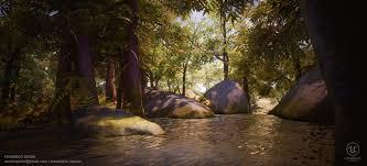 ArtStation - Forest Rock [UE4], Fernando Quinn