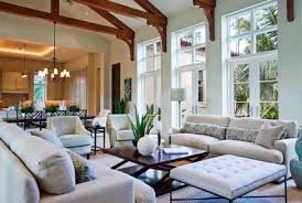 Use large rugs to divert attention and create the illusion that there are  two separate spaces.