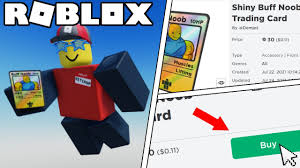 Play games and earn buff coins without investment. Buying The Shiny Buff Noob Trading Card On Roblox Youtube