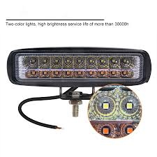 Service Truck Led Work Lights Details About 6 Inch Led 36w Work Combo Light Bar White Yellow For Offroad 4wd Atv Car Truck