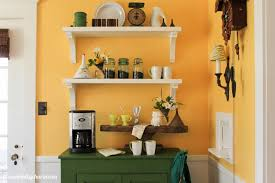 Image of: Coffee Station Table Kitchen