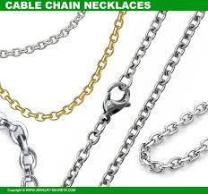 3 cable link chains
