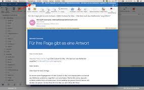 O365 Outlook Für Mac Wie Lässt Sich Das Mailfenster Microsoft