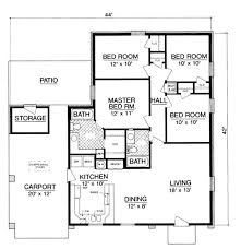Cottage house plan with 4 bedrooms and baths plan 2976