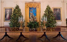Christmas Decoration Design Melania Trump Unveils White House Christmas Decorations Time 93