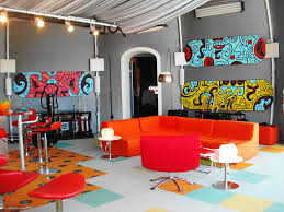 color art office interiors. Living Room Wall Painting Colorful Art Interior Design Ideas Extraordinary Office Color Interiors