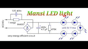 outstanding led light driver circuit diagram v full size