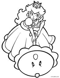 Click the princess peach coloring pages to view printable version or color it online (compatible with ipad and android tablets). Printable Princess Peach Coloring Pages For Kids