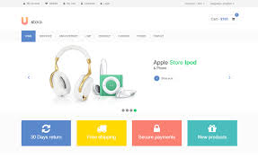 Free Ecommerce Website Templates Custom Download Free HTML ECommerce Templates For Online Shopping Websites