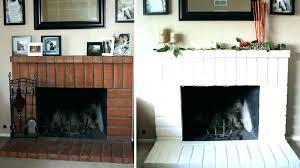 painted brick fireplace colors painted brick fireplace should i paint my brick fireplace painted brick fireplace